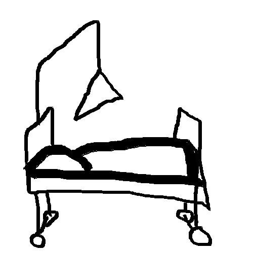 Spitalsbett