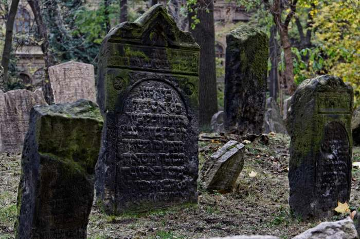 Prag Altjüdischer Friedhof 2