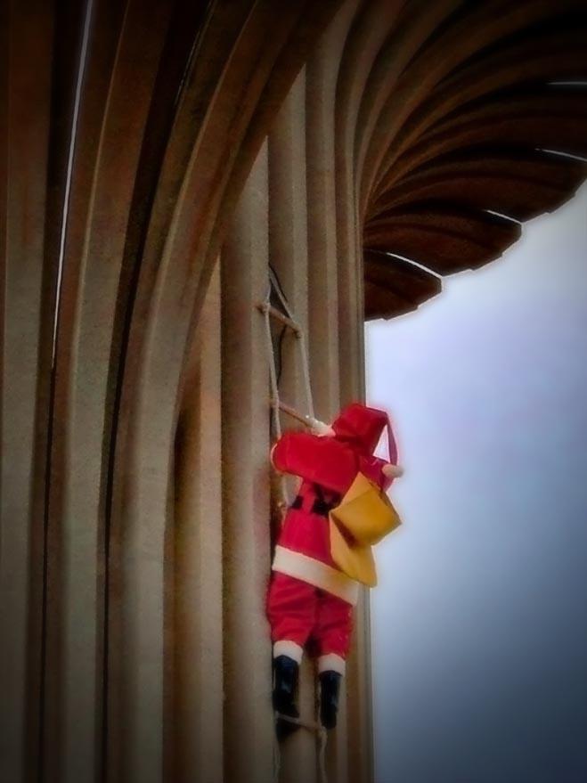 Weihnachtsmann auf Gran Canaria