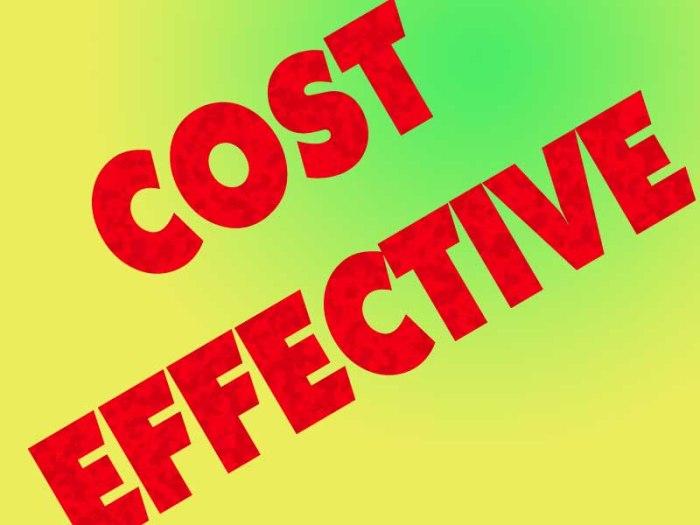 costeffective