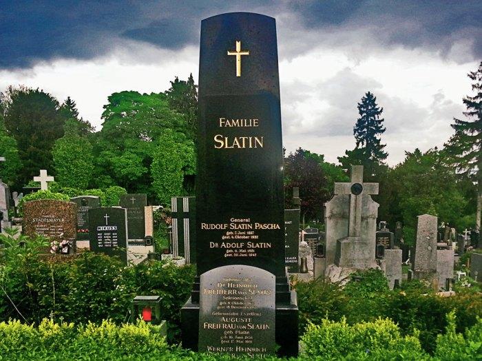 Slatin Pascha Friedhof Ober St. Veit