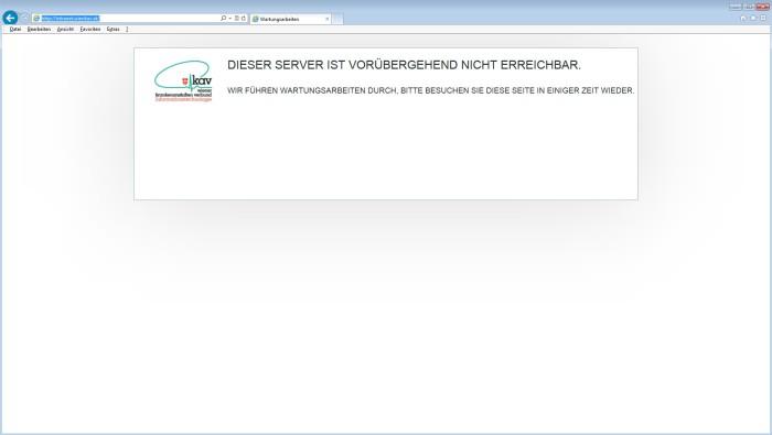 KAV Server down